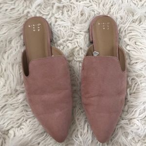 A New Day Pink Mules